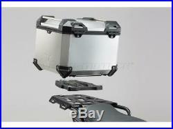 SW-Motech Trax Adventure Silver Top Case Set Honda CRF1000L Africa Twin