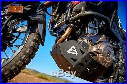 Sabot Moteur Honda Africa Twin CRF 1000 2016-2019 Aluminium Protection Noir ACD