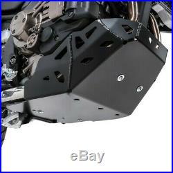 Sabot moteur pour Honda Africa Twin CRF 1000 L 16-19 Motoguard pare moteur noir