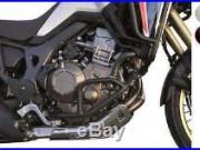 Sabot trail BIHR alu noir Honda Africa Twin CRF1000L