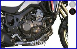 Sabot trail BIHR alu noir Honda Africa Twin CRF1000L (Sports motorisés)
