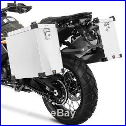 Sacoches aluminium + supports 18mm pour Honda Africa Twin CRF 1000 L