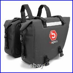Sacoches cavalières etanches pour Honda Africa Twin XRV 750 / 650 Bagtecs WP6
