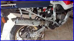 Scarico Terminale silenziatore Racing Booster Honda 650 Africa Twin 1988-1989