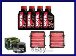 Set Entretien Honda Africa Twin 1000 Huile Motul 7100 15w50 Filtre à Air Huile