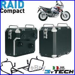 Side Cas Raid Compact 33 + 39 Lt Honda 750 Xrv Africa Twin (rd04/rd07)'93/'03