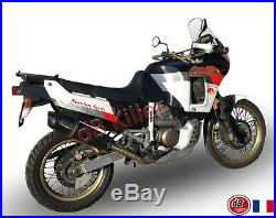 Silencieux Gpr Furore Alu Noir Honda Africa Twin 750 1990/91/92