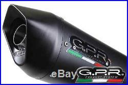 Silencieux Gpr Furore Alu Noir Honda Crf 1000 L Africa Twin 2015