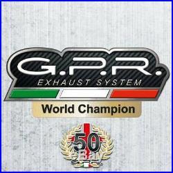 Silencieux Gpr Sonic Inox Honda Crf 1000 L Africa Twin 2018/19