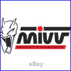Silencieux Homologue Oval H. 024. Lx1 MIVV Honda Xrv 750 Africa Twin 1993 93
