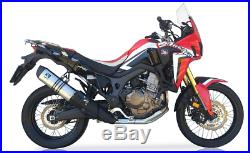 Silencieux IXIL Hexoval Inox Honda Crf 1000 L Africa Twin 2016/17 Oh6074vse