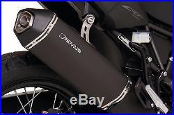 Slip-On Exhaust Remus Stainless steel black Honda CRF 1000 L Africa Twin 2016