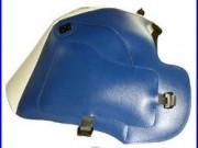 Tapis de réservoir Bagster blanc/bleu (1151B) Honda Africa Twin XRV650 NEUF