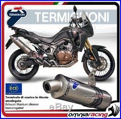 Termignoni Pot D'Echappement titane approuve Honda CRF1000L Africa Twin 15