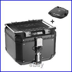 Top Case Givi Honda Africa Twin XRV 650 Monokey Trekker Outback OBK42B noir