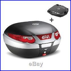 Top Case Givi Honda Africa Twin XRV 750 E55N Monokey noir