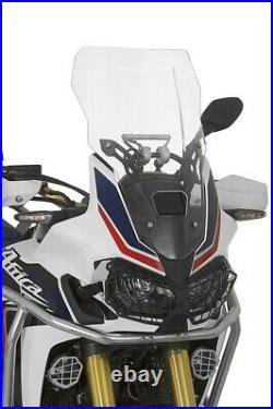 Touratech Pare-Brise, L, Transparent, pour Honda CRF1000L Africa Twin/Aventure