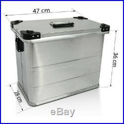Valises Latérales alu 2x45l + kit 16mm pour Honda Africa Twin XRV 650/ 750