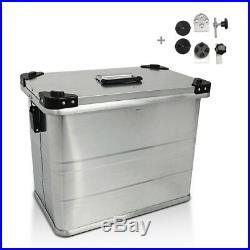 Valises Latérales aluminium 1x45l+kit 16mm Honda Africa Twin XRV 650/ 750