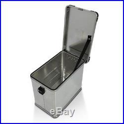 Valises Latérales aluminium 2x45l+kit 16mm Honda Africa Twin XRV 650/ 750