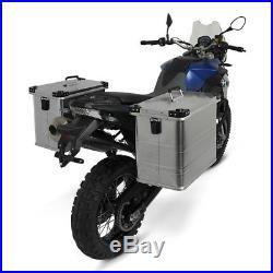 Valises Latérales aluminium 2x45l+kit 18mm Honda Africa Twin XRV 650/ 750
