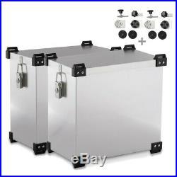 Valises laterales 41l-36l + kit 16mm pour Honda Africa Twin XRV 650/ 750